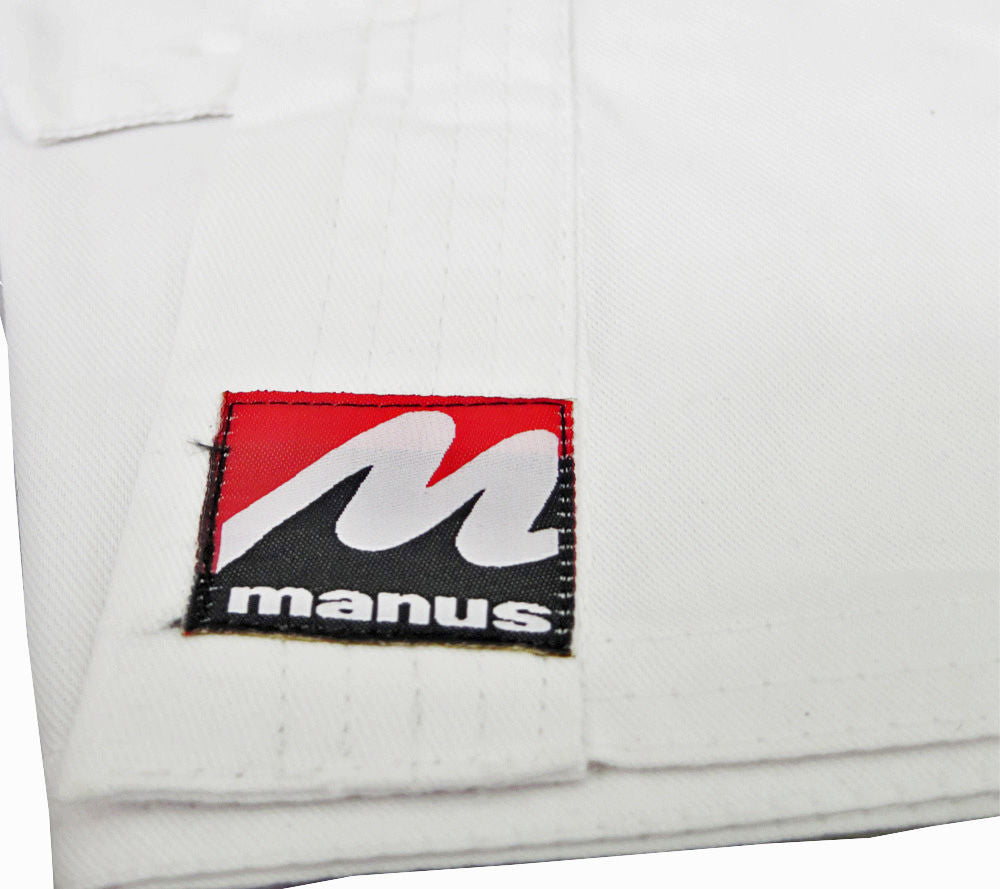 Manus BASIC Lightweight Karate Uniform - 5oz - white