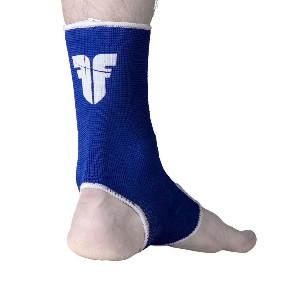 Ankle Support Fighter blue/white