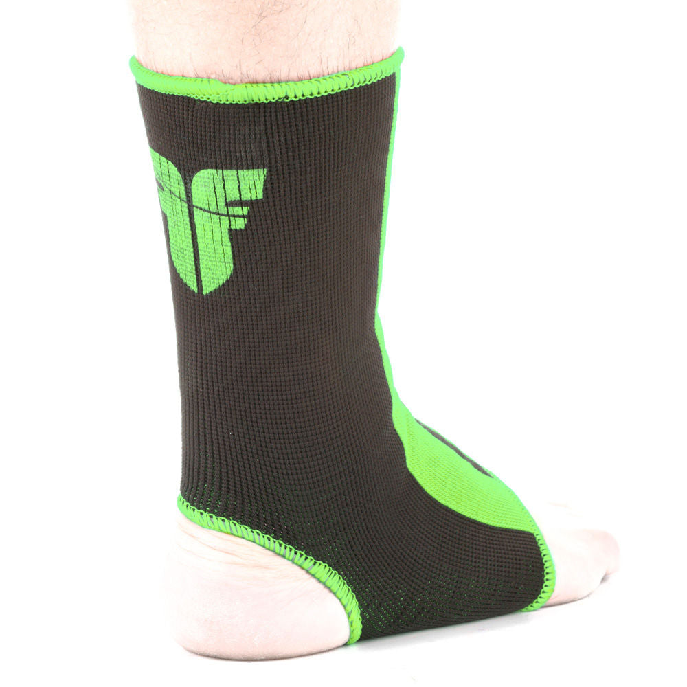 Ankle Support Fighter - black/neon green
