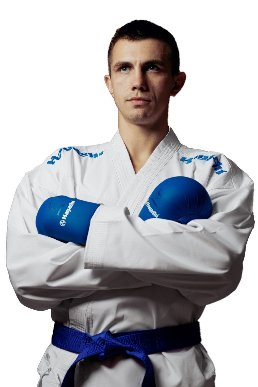 Hayashi WKF Karate-Gi CHAMPION FLEXZ - White/Blue