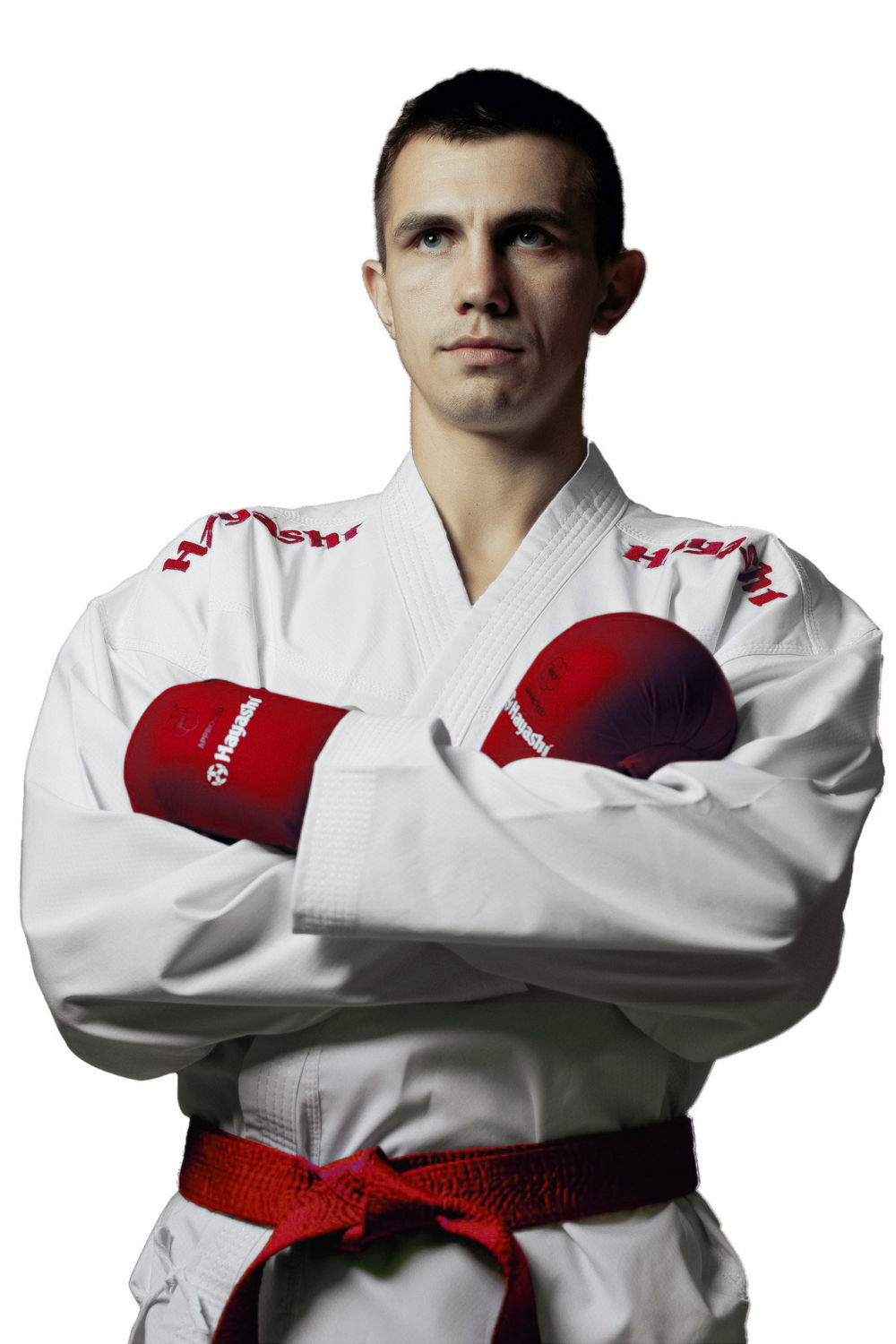 Hayashi WKF Karate-Gi CHAMPION FLEXZ - White/Red