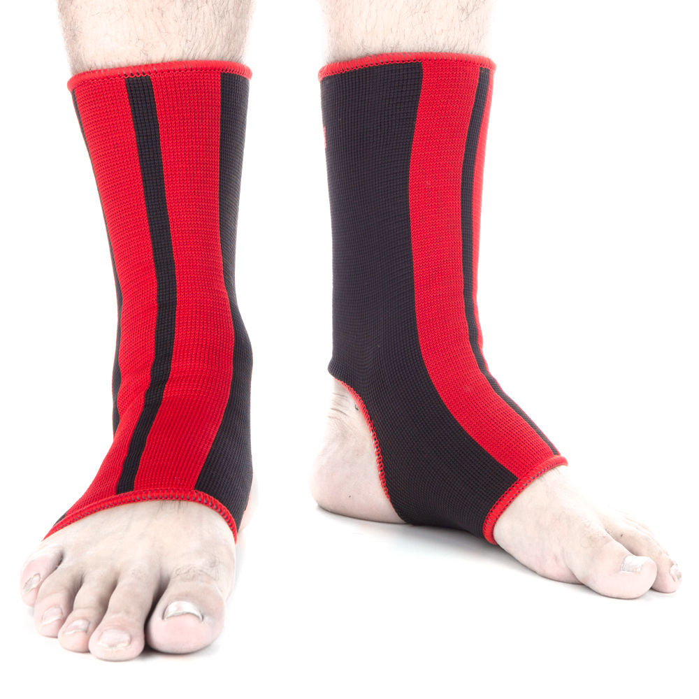 Ankle Support Fighter - black/red