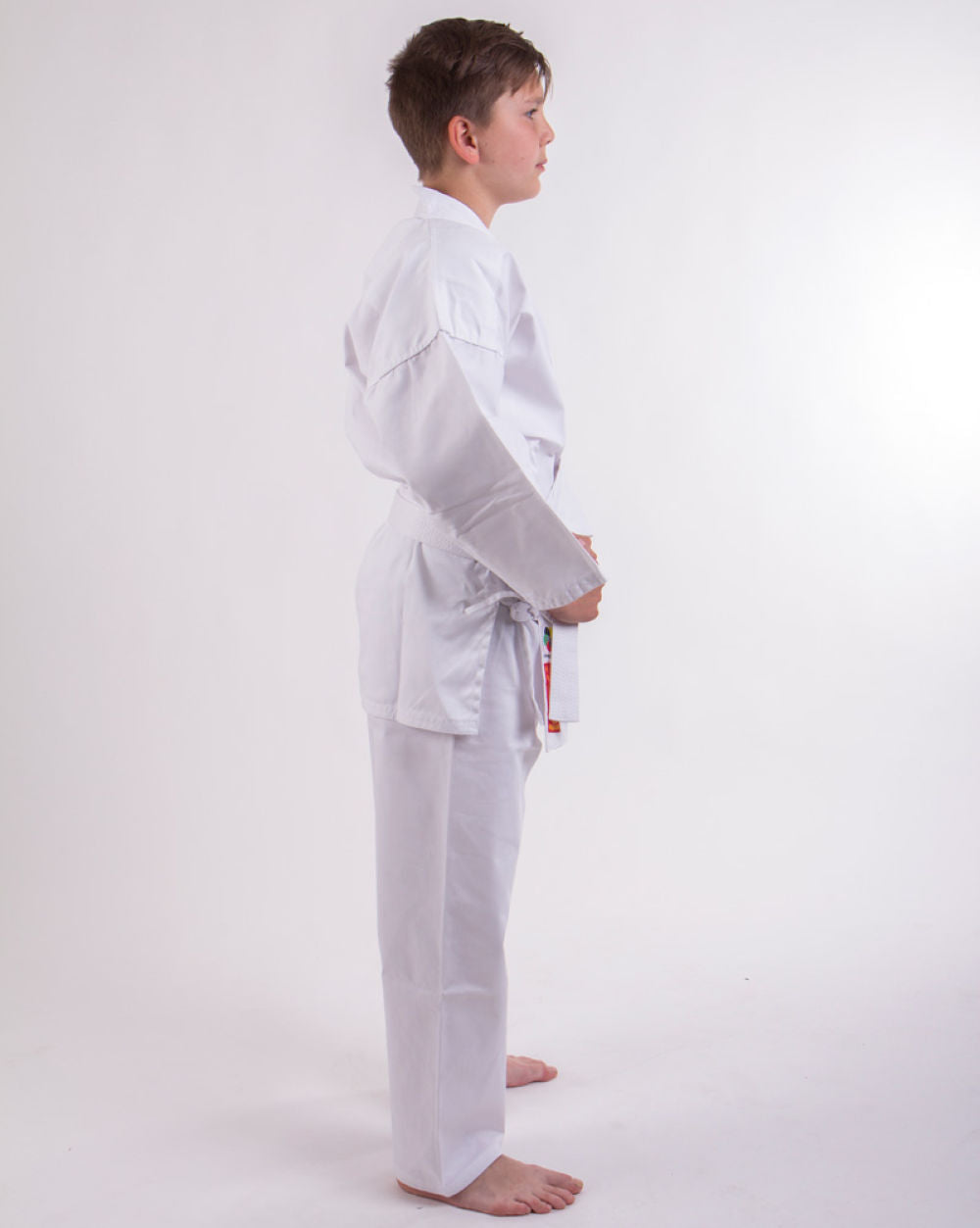 Hayashi HEIAN Lightweight White student uniform - 7oz WKF approved SPE