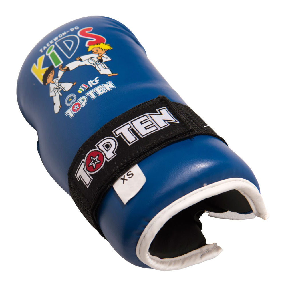 Top Ten KIDS Open-Hand Gloves ITF - blue