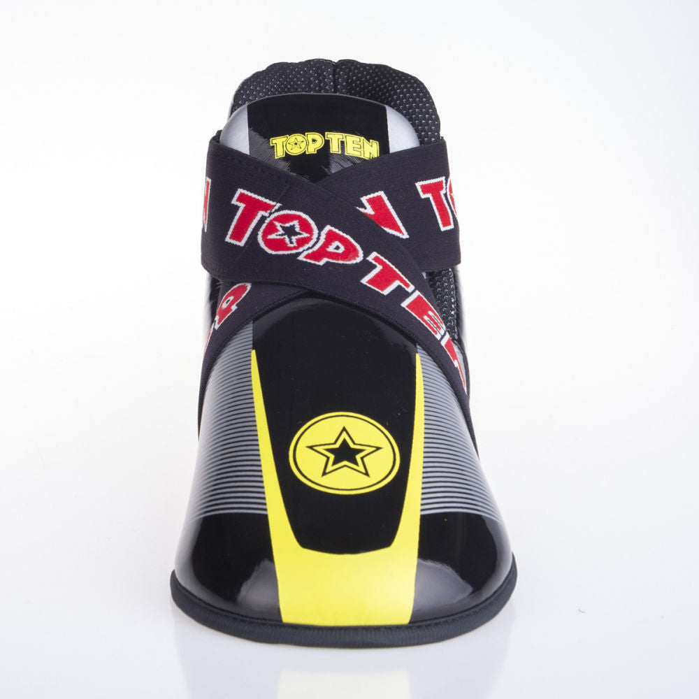 Top Ten Super-light Stars and Stripes Kicks - black/yellow/silver