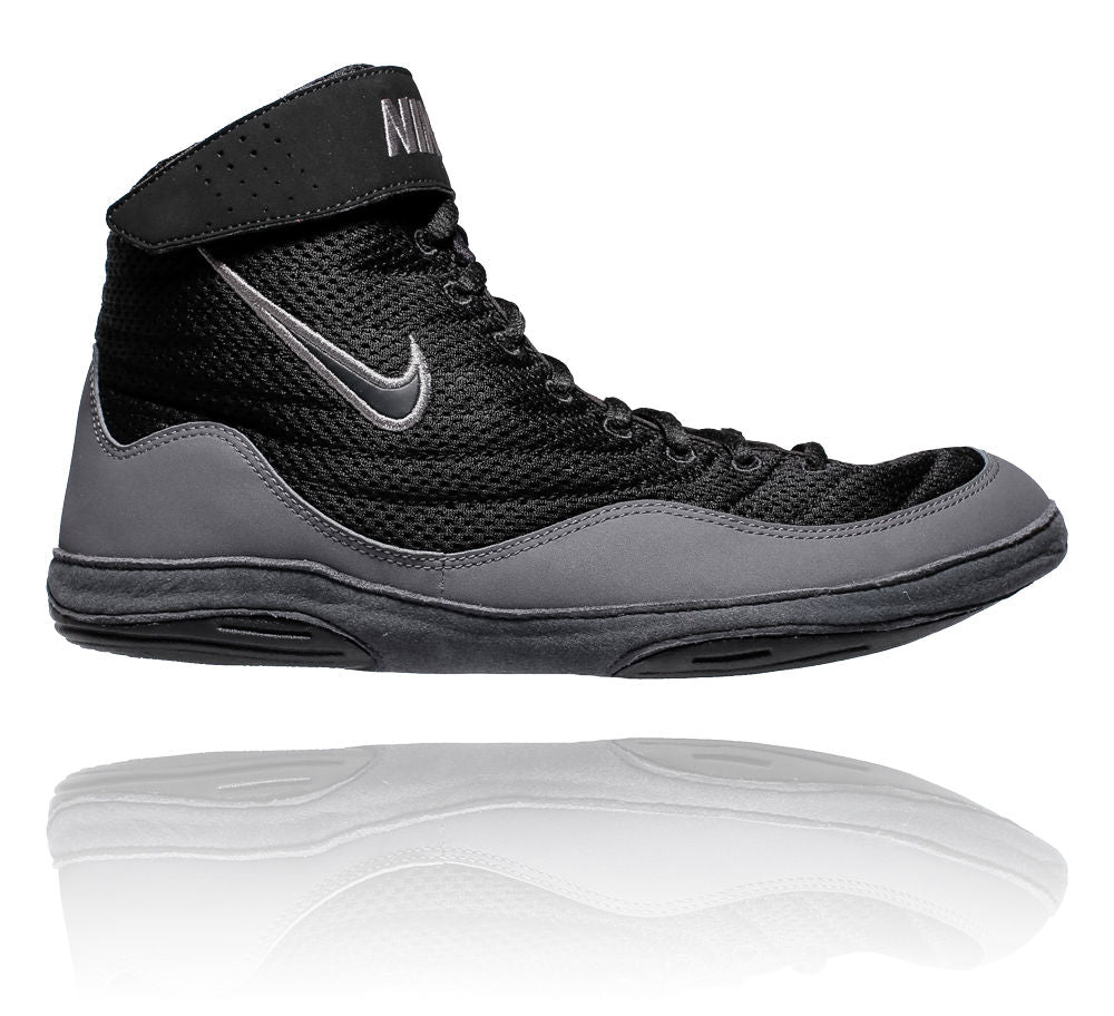 Nike Inflict Wrestling Shoes - black/grey