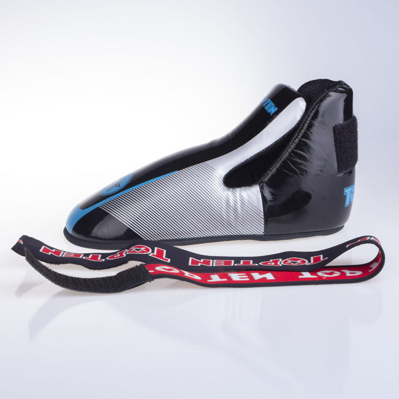 Top Ten Super-light Stars and Stripes Kicks - black/blue/silver