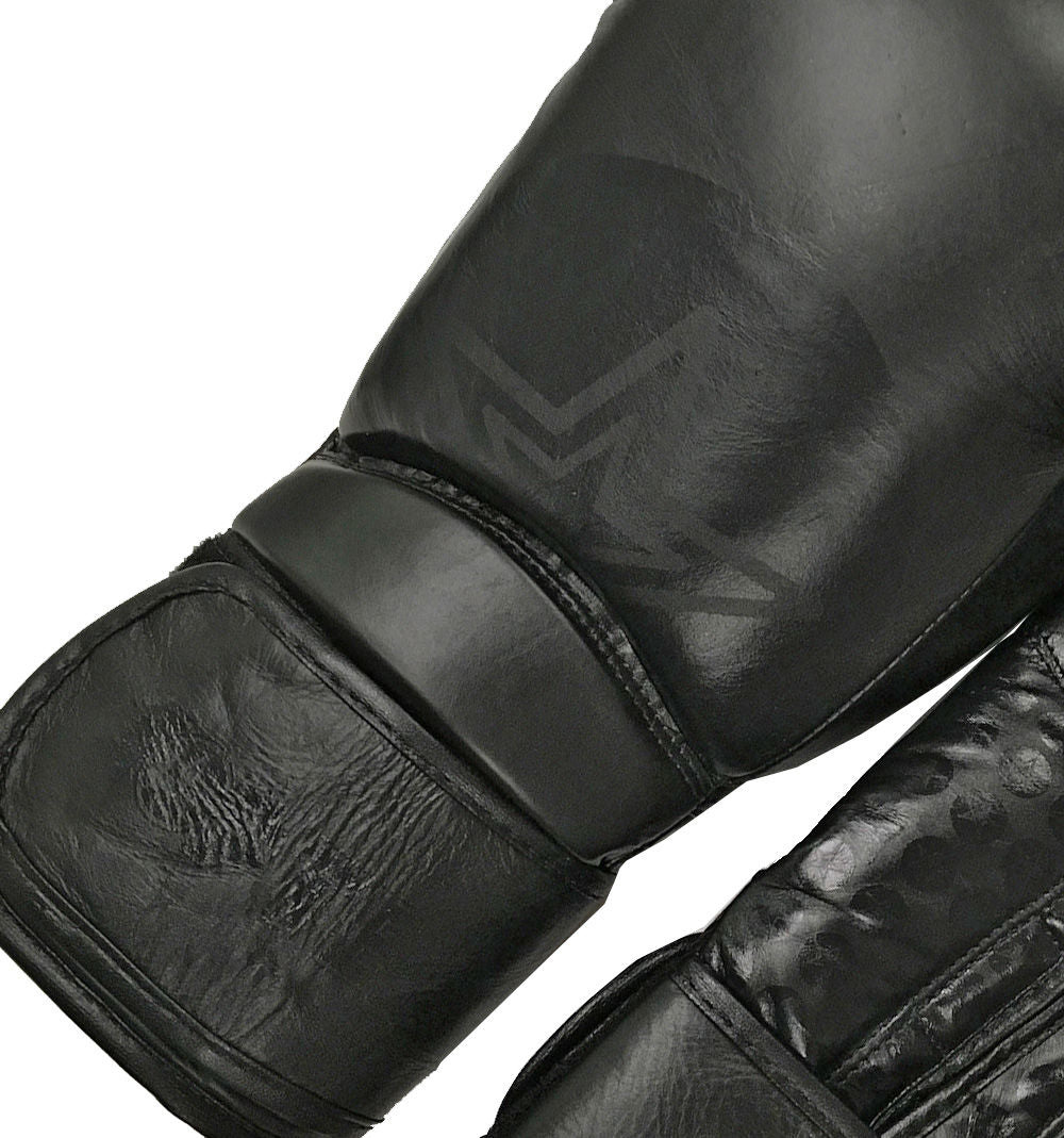 Top Ten Wrist Star Boxing Gloves - black/black