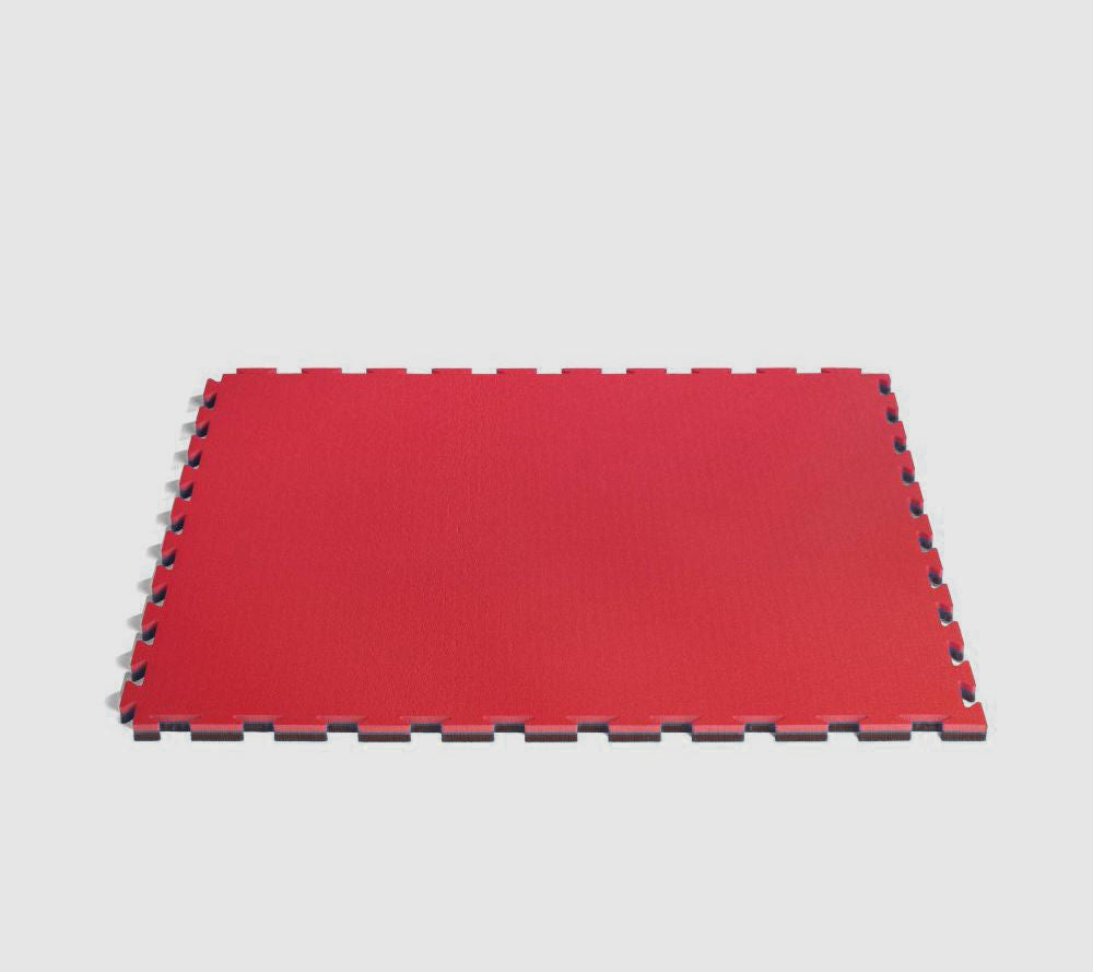 ProGame Multisport Basic Puzzle Mat - black/red
