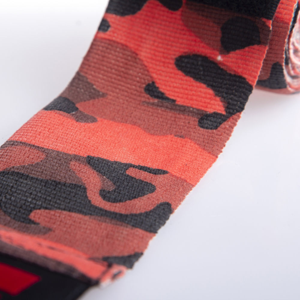 Fighter Handwraps - red camo