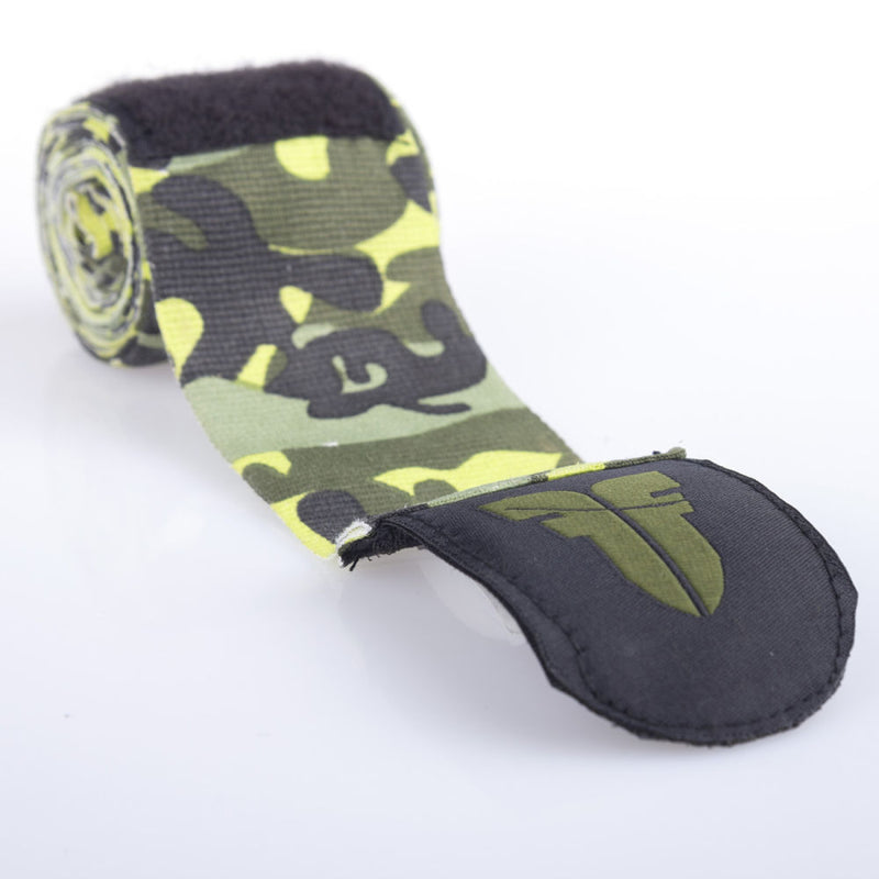 Fighter  Handwraps - green camo