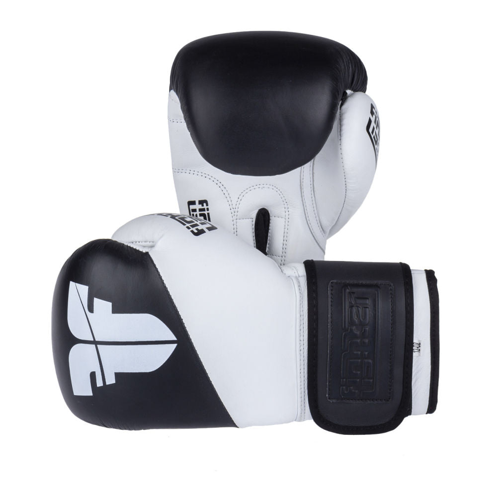 white boxing gloves