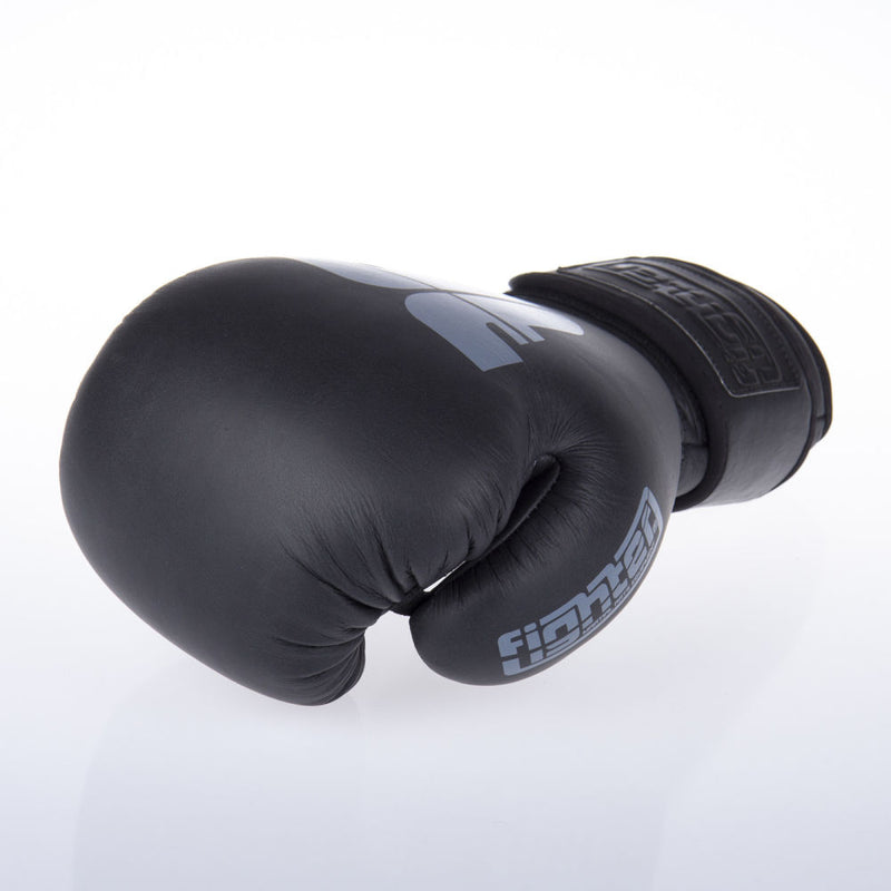 Fighter SIAM Boxing Gloves - black/grey
