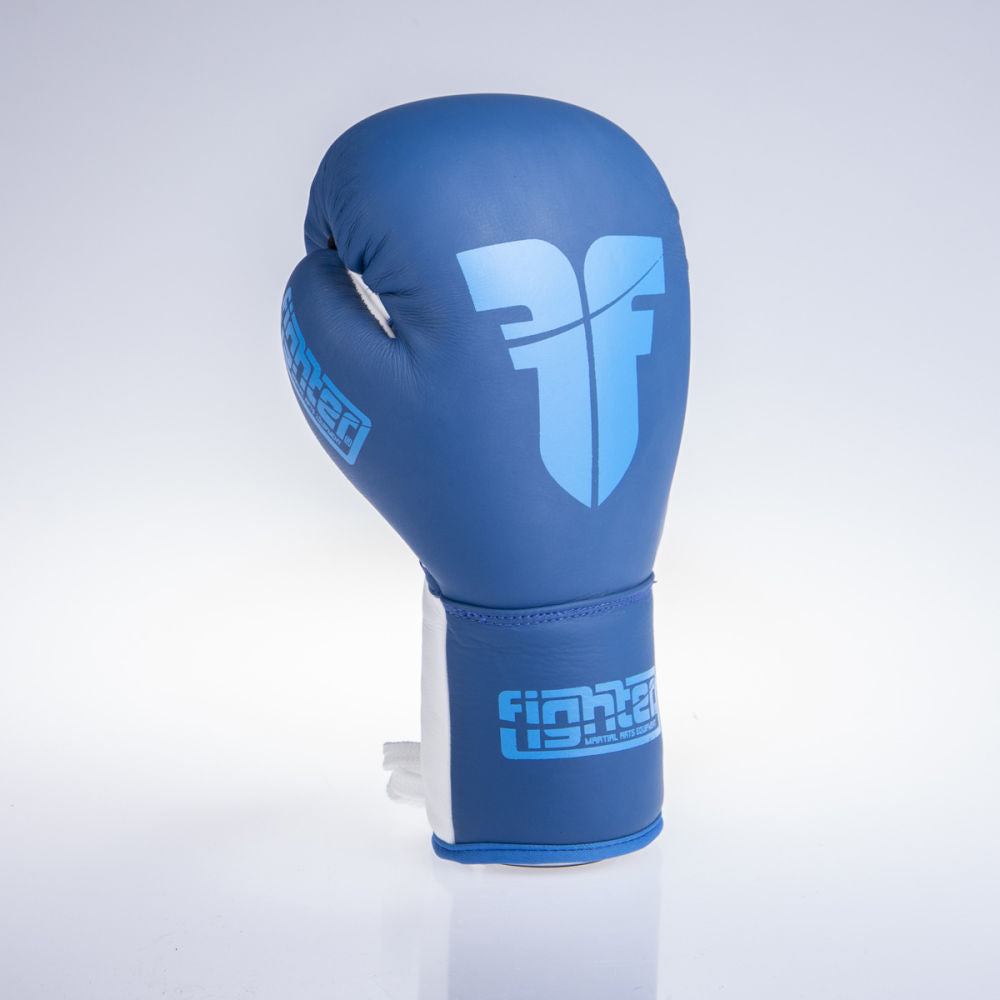 Fighter Competition Pro Boxing Gloves - blue