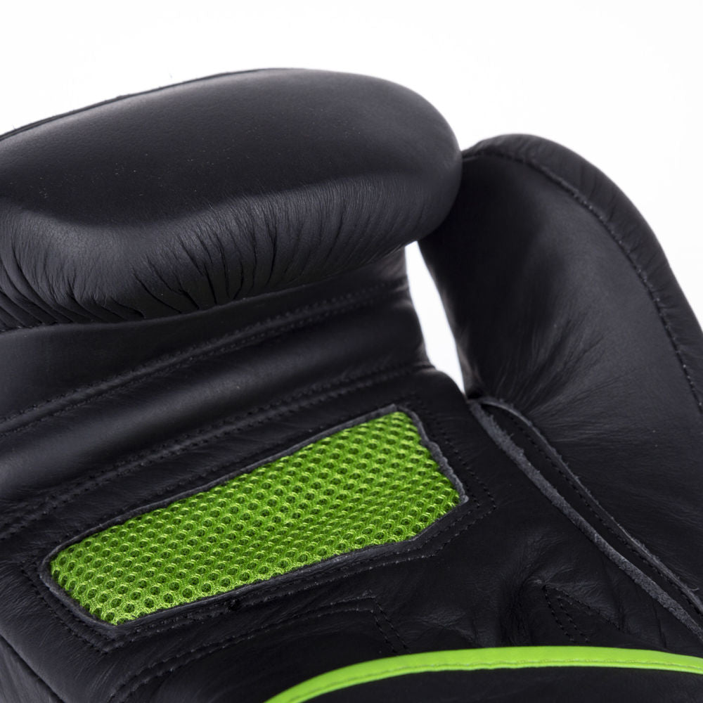 Fighter Safety Bag Gloves - black/green