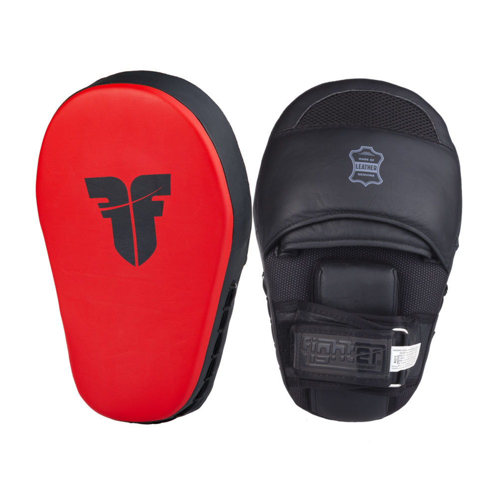 Fighter Focus XL Mitts - red/black