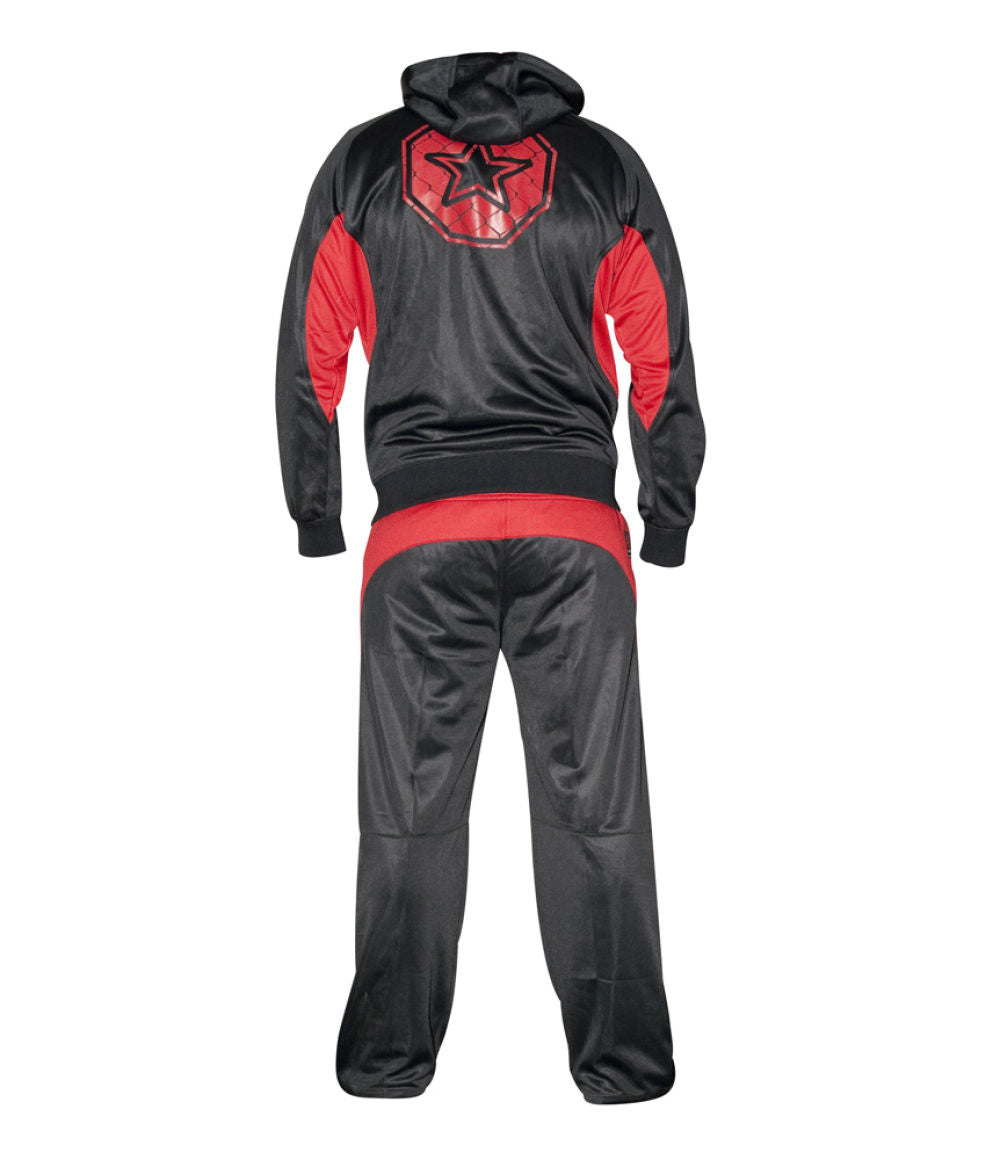TOP TEN MMA Tracksuit - black/red