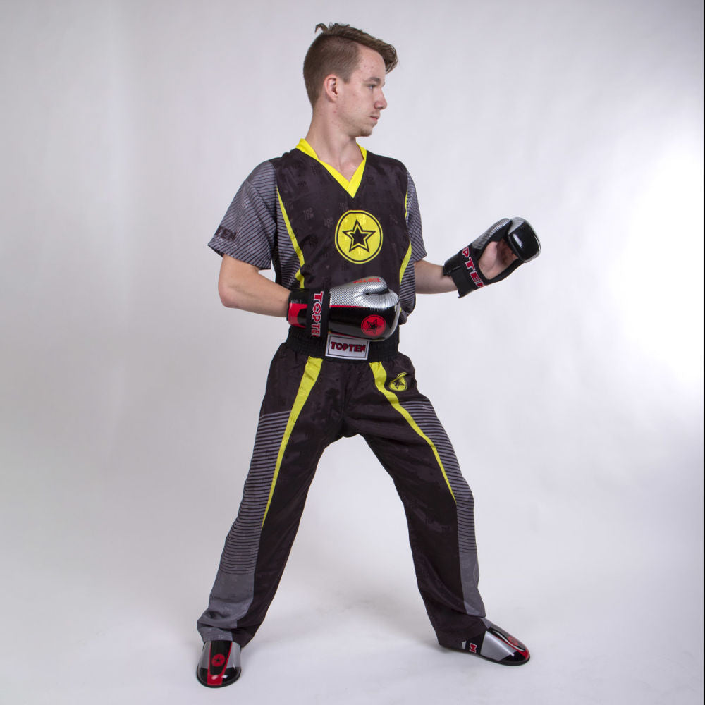 TOP TEN Big Star Uniform - black/yellow