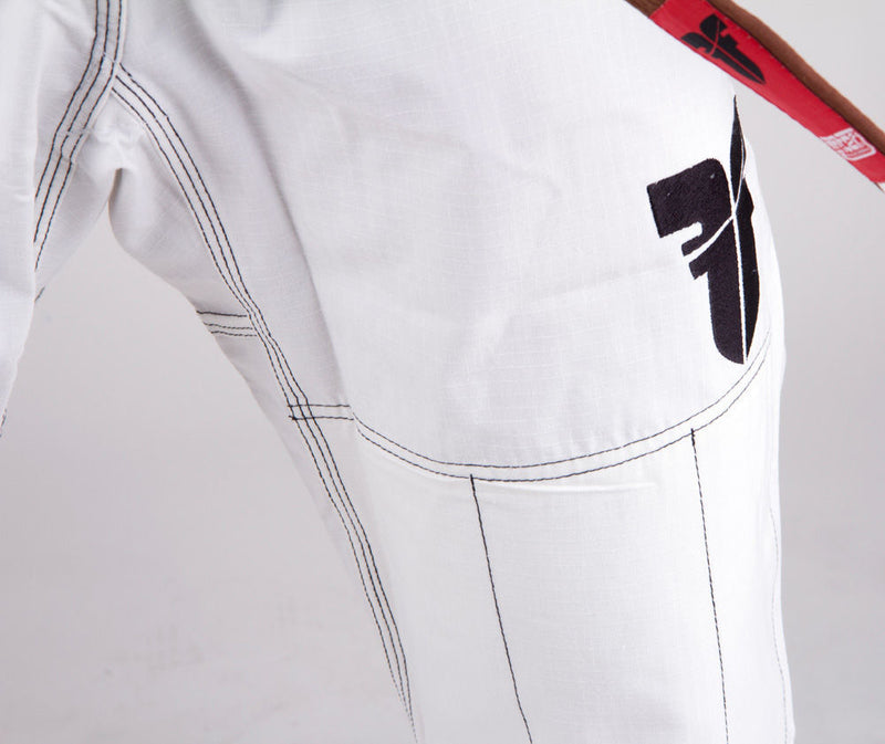 Fighter BJJ Gi Ripstop Uniform - White