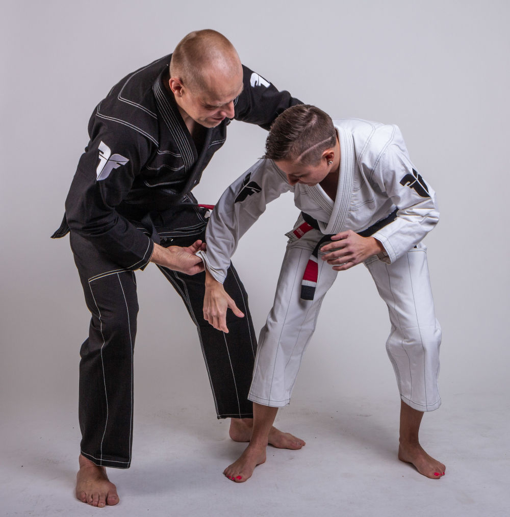 Fighter BJJ Gi Ripstop Uniform - Black