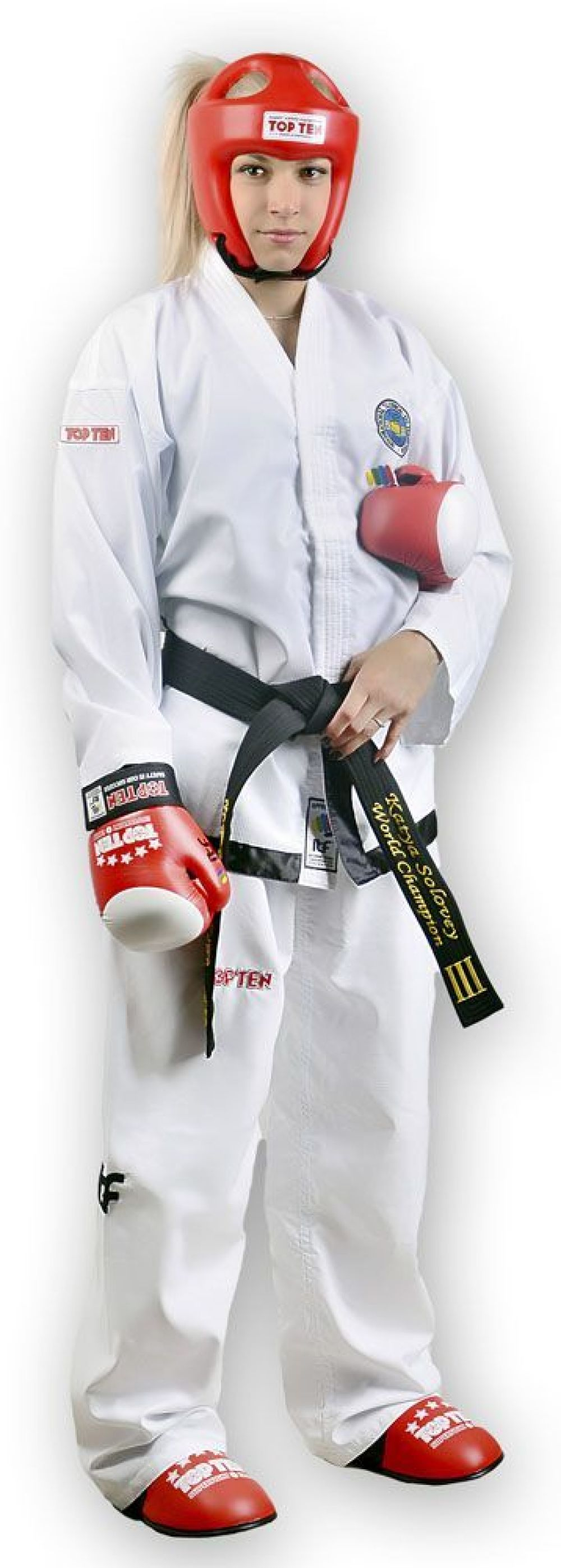 Women taekwondo uniform