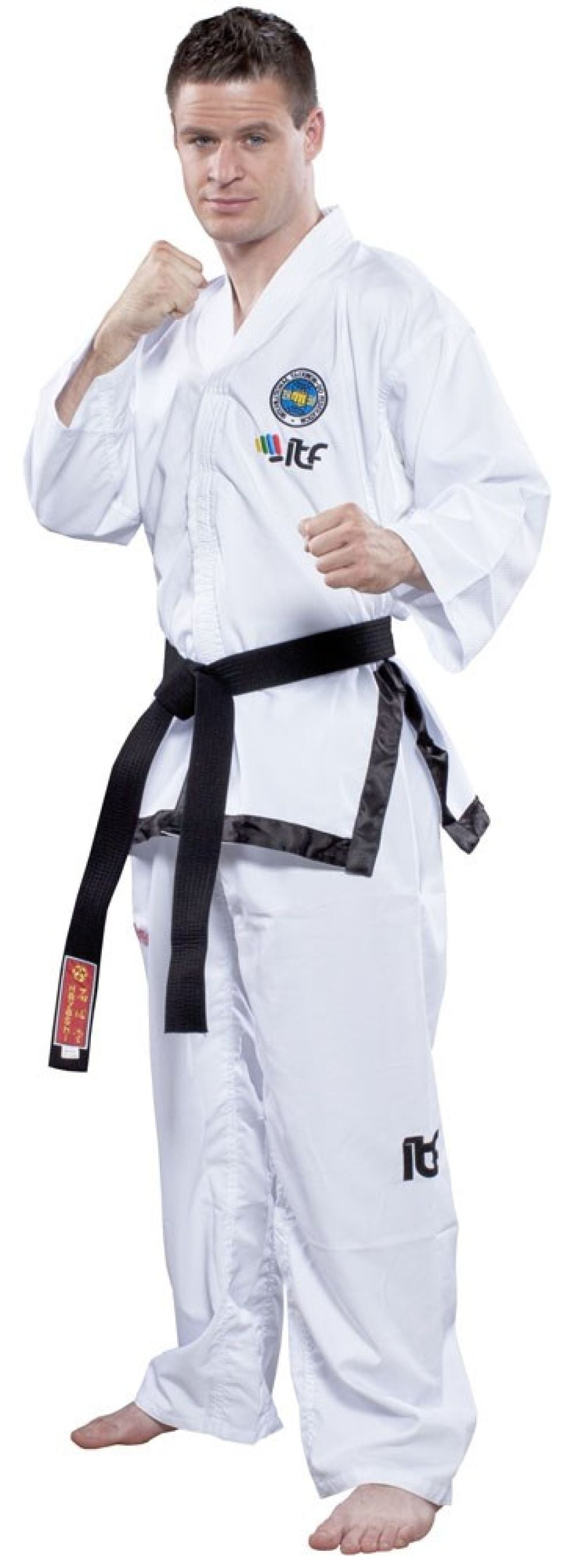 TOP TEN ITF Assistant Instructor Uniform - Diamond Dobok - polyester
