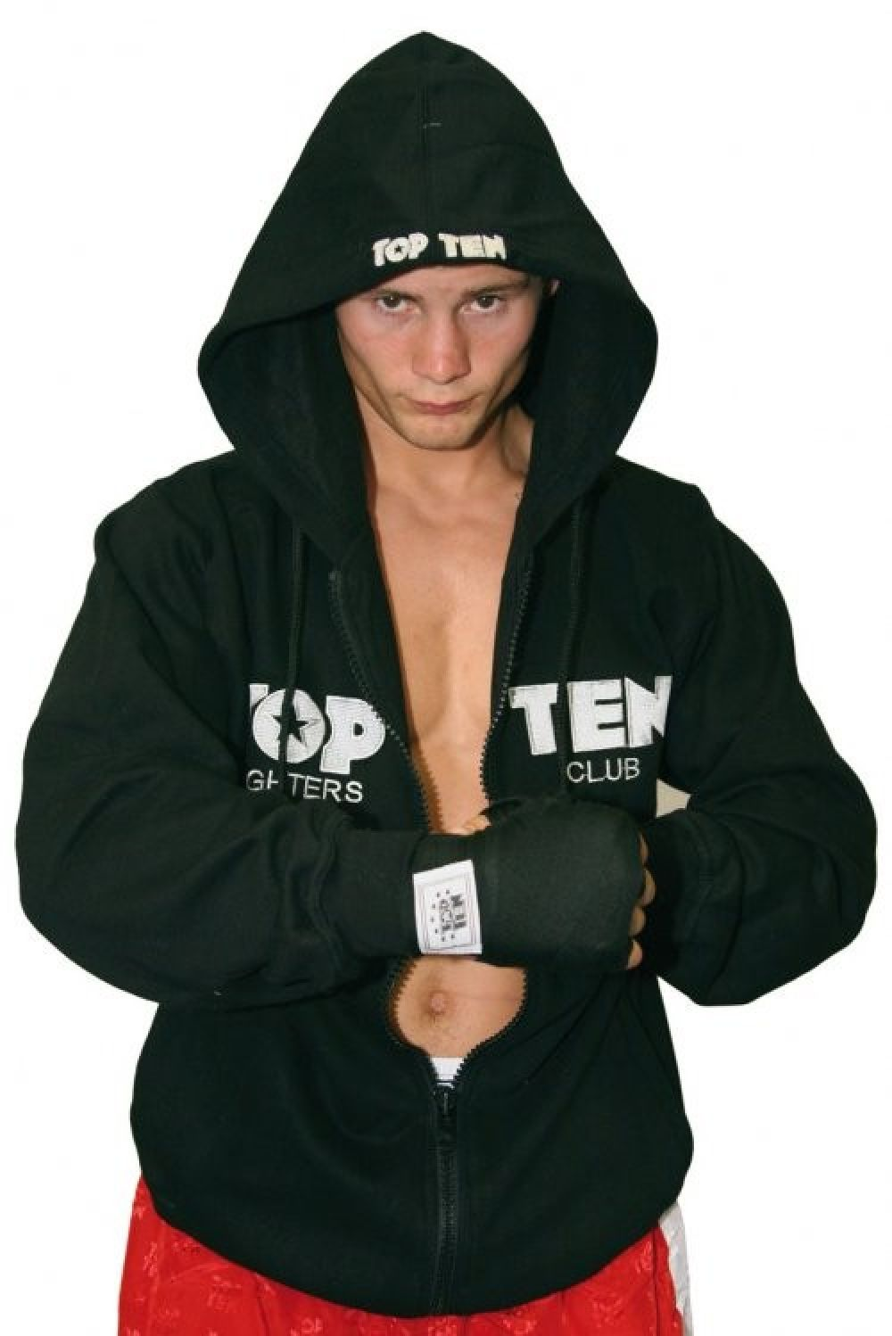 TOP TEN Hooded Sweatshirt - black