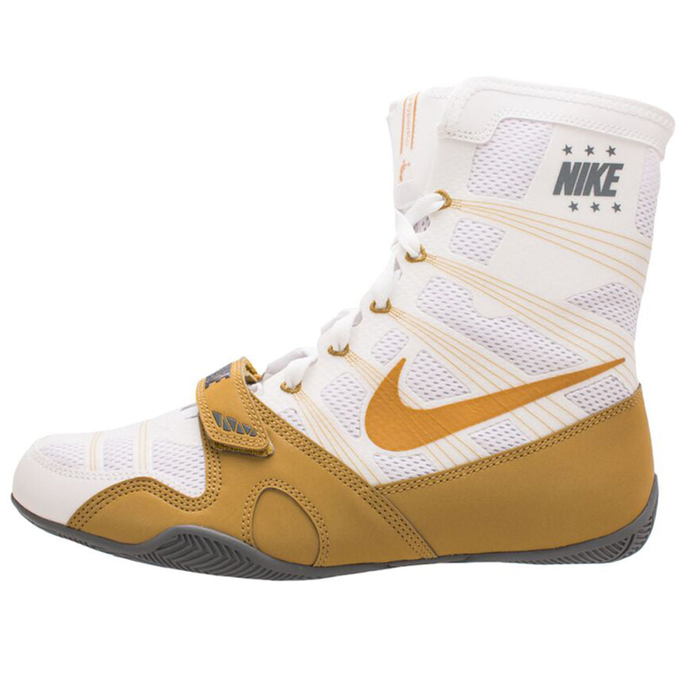 Boxing shoes NIKE HyperKO - white/gold