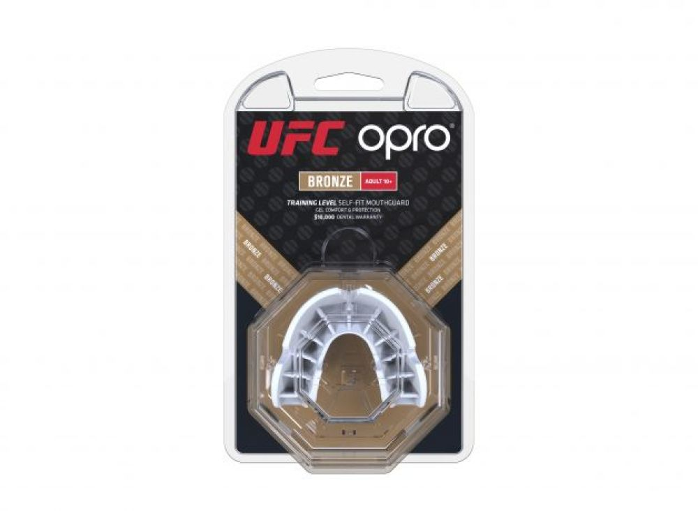 Mouth Guard OPRO Bronze- White