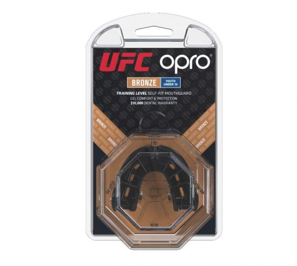 Mouth Guard OPRO Bronze - Black