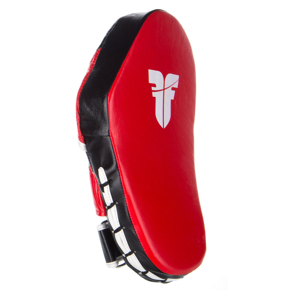 Fighter Focus Mitts - Leather Long - red/white/black