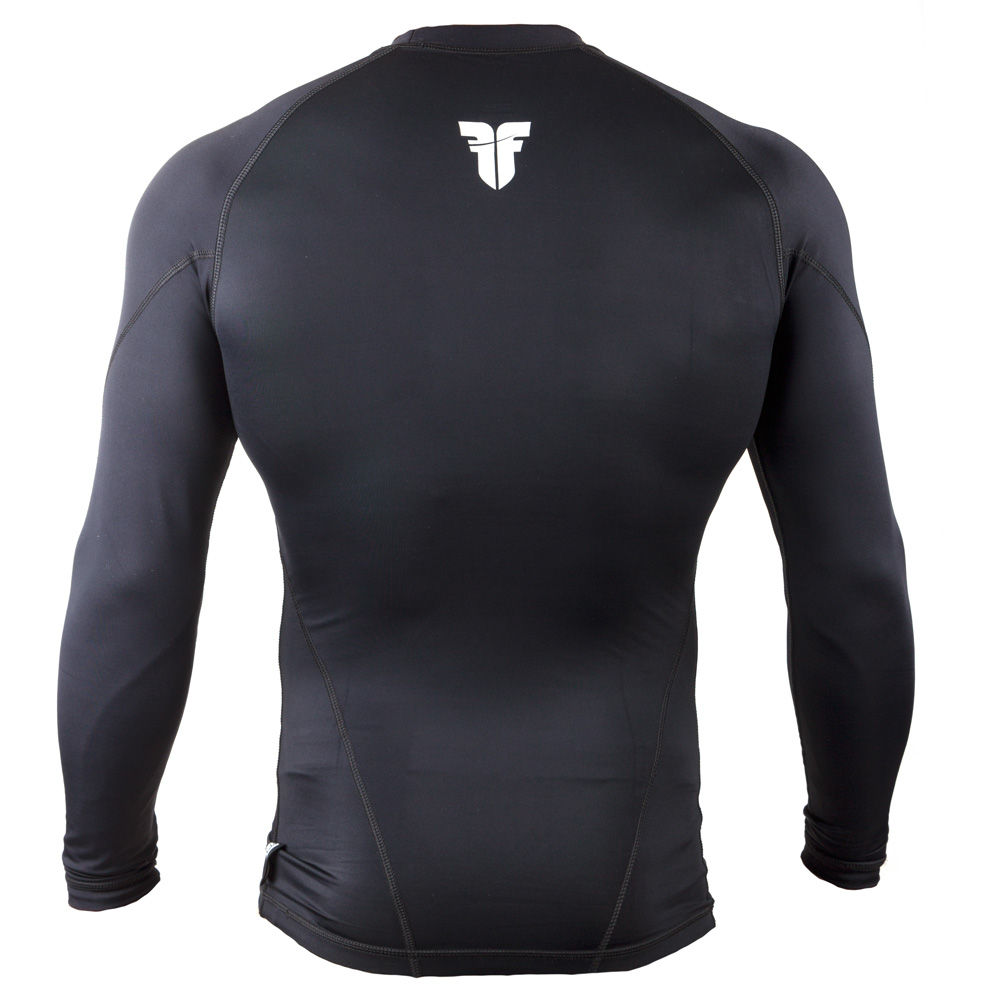 Rashguard Fighter long Sleeves - black