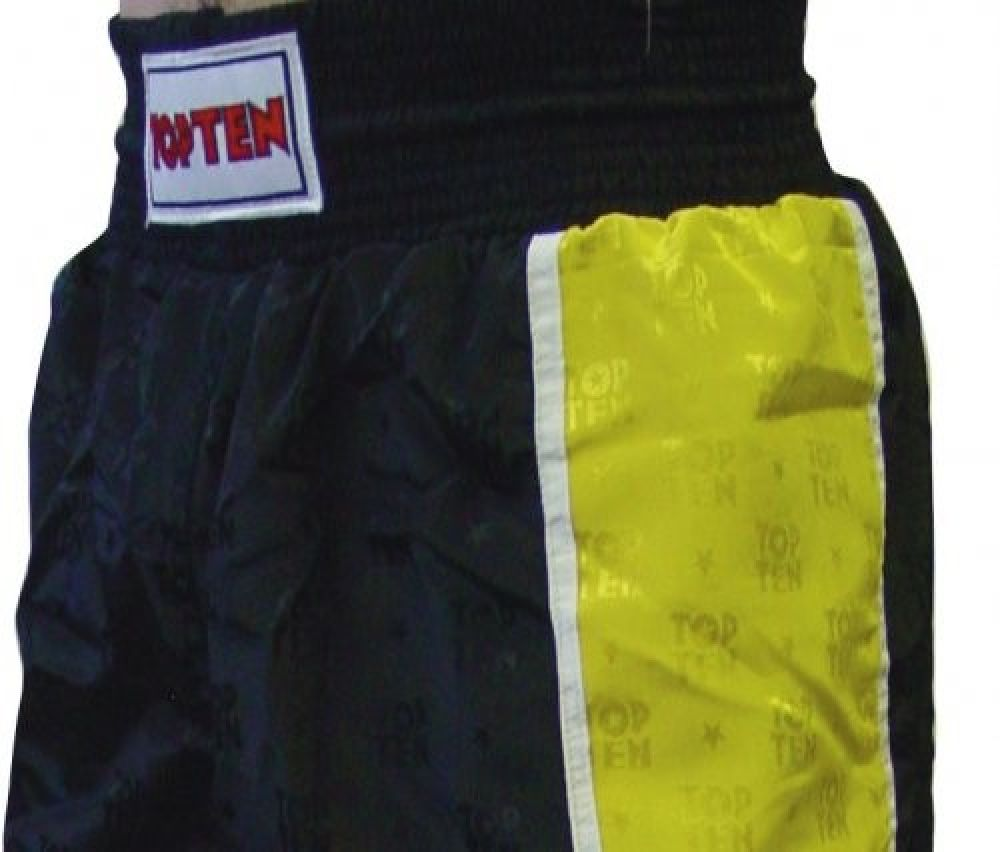 Top Ten Sport Pants - black/yellow