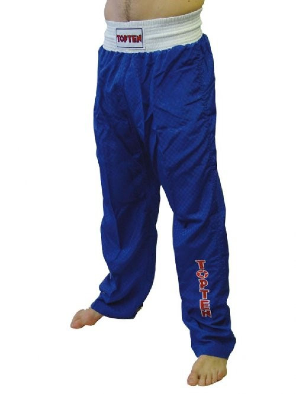 Top Ten Sport Pants - blue/white