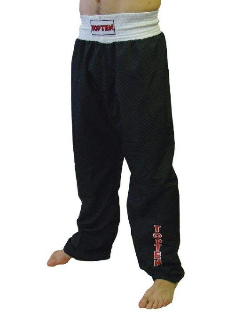 Top Ten Sport Pants - black/white