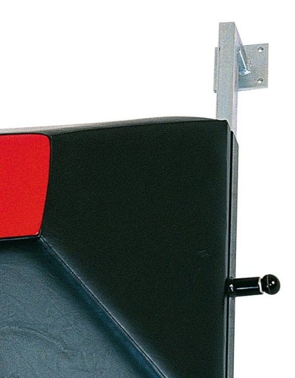Adjustable Wall Mount Target - black/red