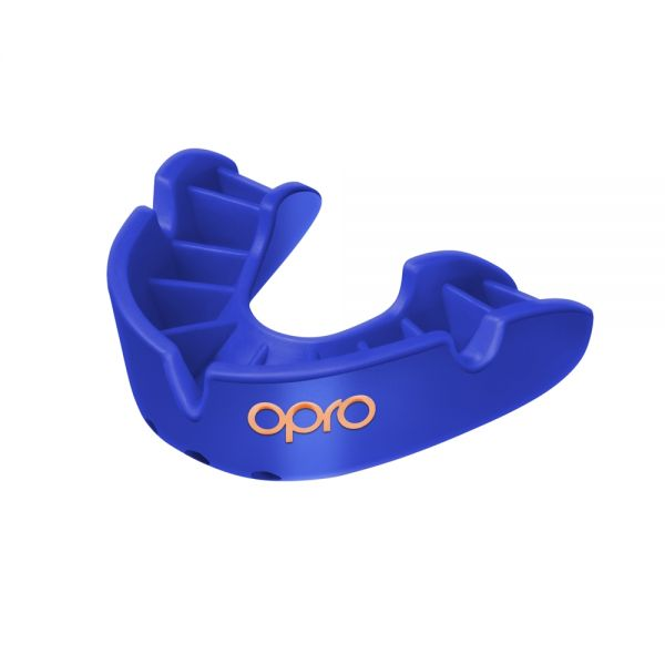 Mouth Guard OPRO GEN4 Bronze - Blue