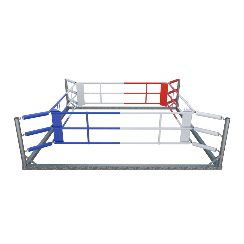FIGHTER Free-Standing Boxing Ring - steel