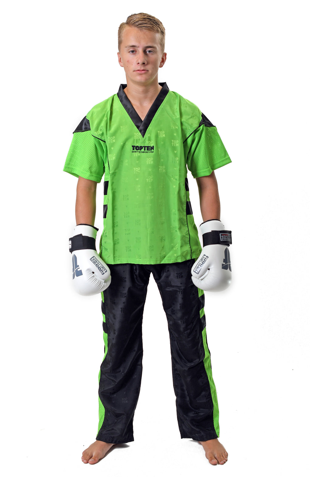 green black uniform