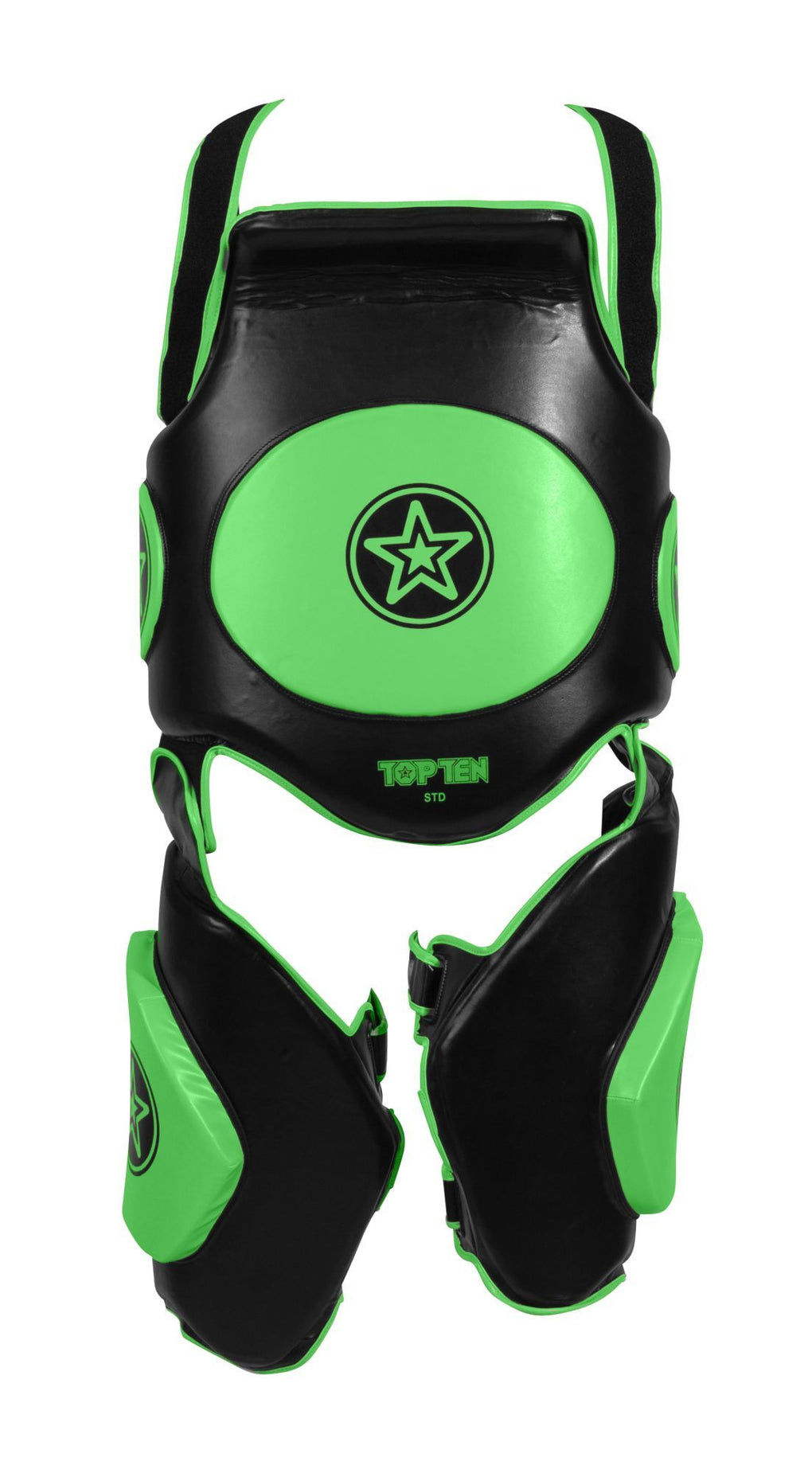 "Kicking shield ""Bodyguard Xtra"" Black/Green"