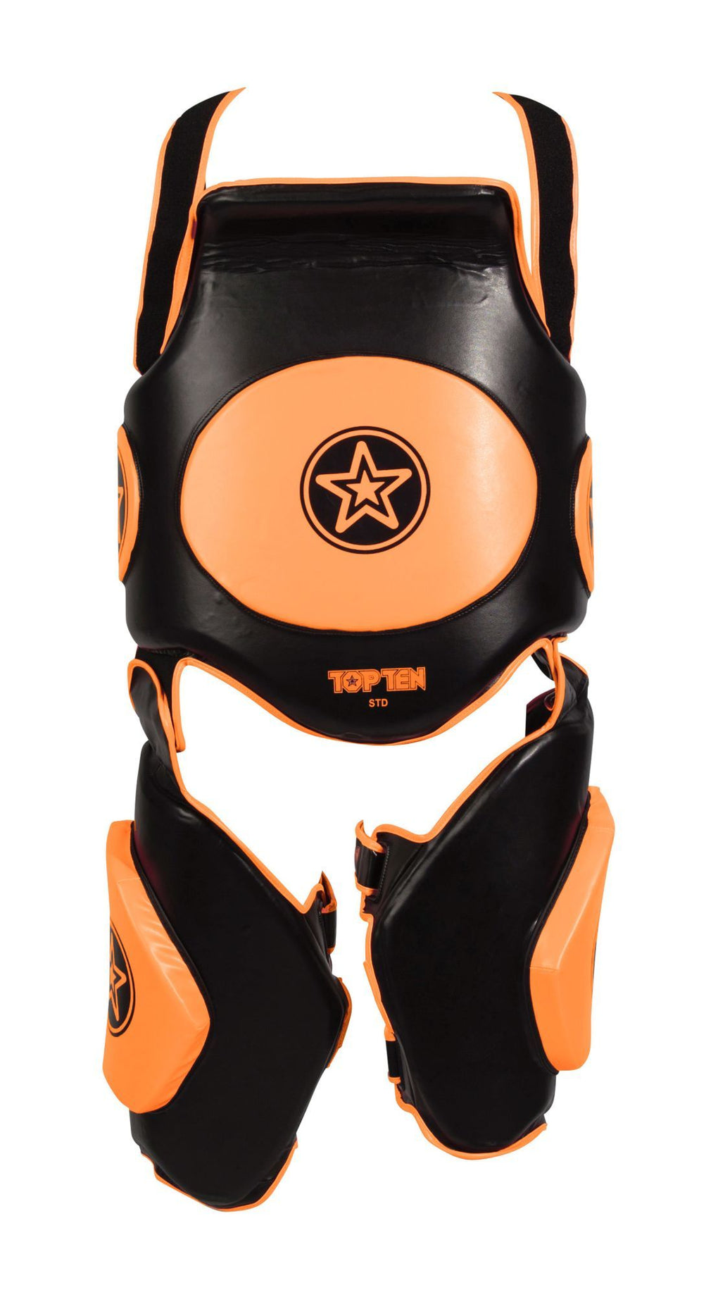 "Kicking shield ""Bodyguard Xtra"" Black/Orange"