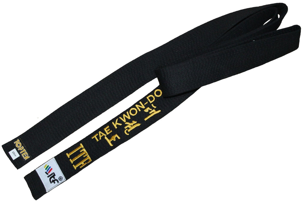"TOP TEN Taekwon-Do belt ""ITF"""