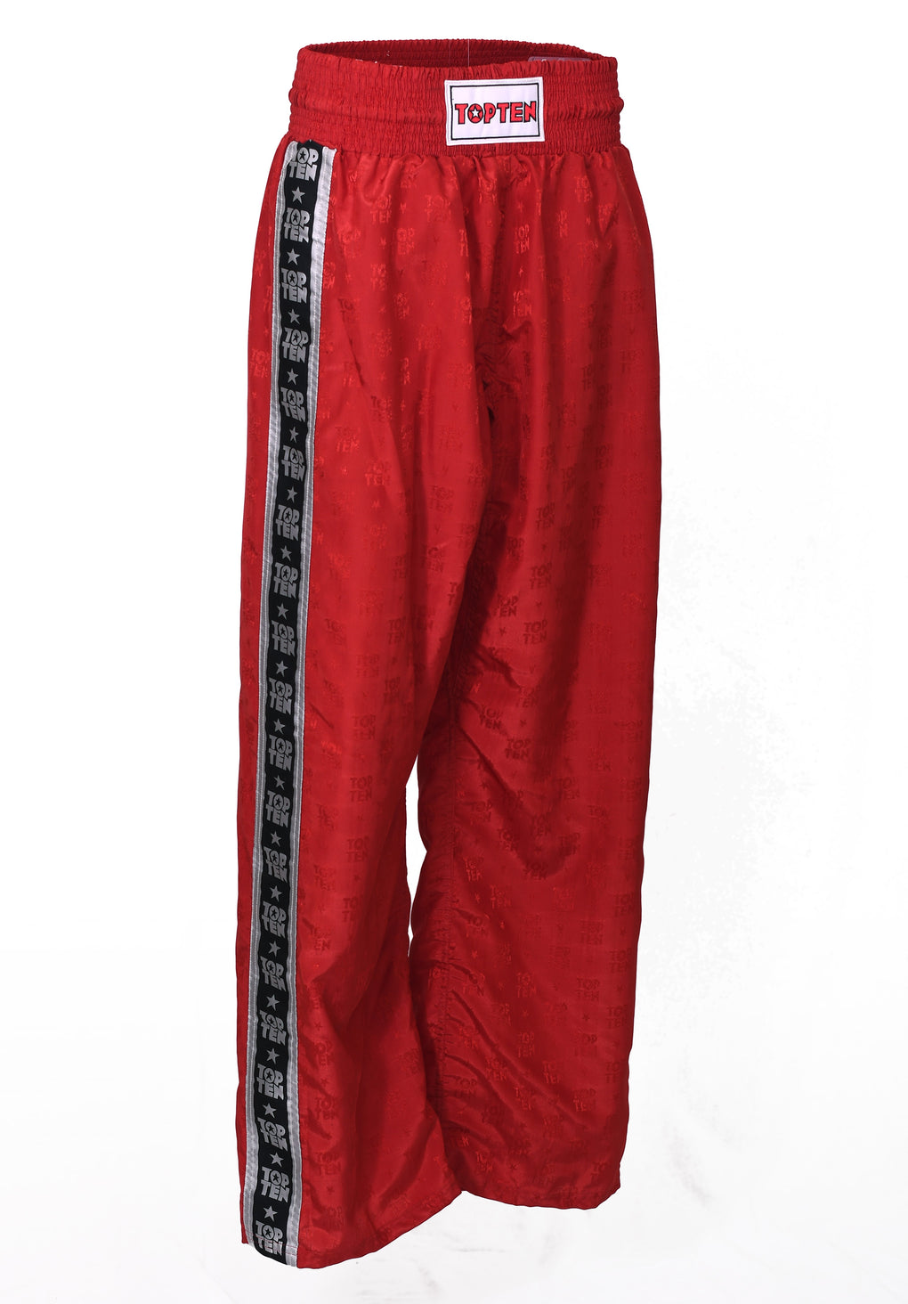 kickboxing pants red