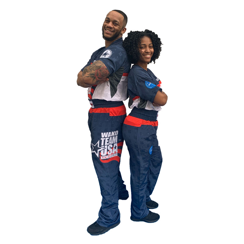 WAKO USA Top Ten uniform