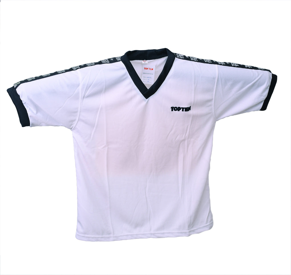 TOP TEN Training Jersey - WINNER - white/black