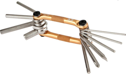 Crank Brothers Multi-10 Tool - gold