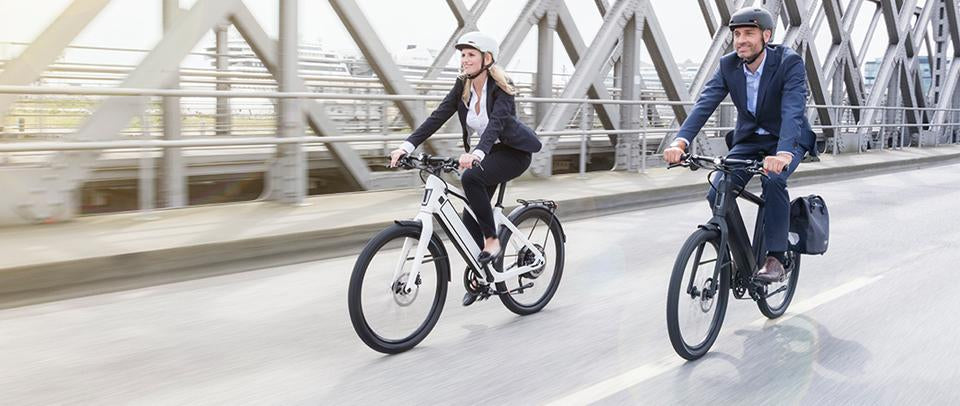 MADE IN GERMANY -  Consider building Stromer e-bikes into the company's mobility concept and get moving.