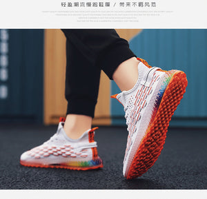 Tenis Flying Weaving Impreso 4D. 3 colores