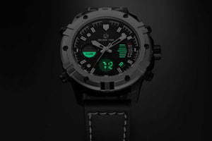 Reloj Military Quartz Dual Time. 3 diseños