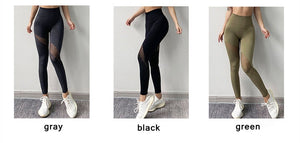 Leggings Fitness Push Up Malla. 3 colores